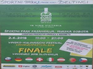 VinoEuro2018 Slovenia – Evropsko prvenstvo vinarjev v nogometu - tudi v Beltincih